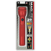 Maglite® ST2D036 2 Cell D LED Flashlight Red