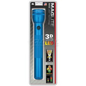 Maglite® ST3D116 3 Cell D LED Flashlight Blue