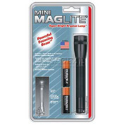 Maglite® M2A016 2 Cell AA Mini Flashlight Black