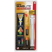 Maglite® SP2210H 2 Cell AA Mini LED Flashlight Silver