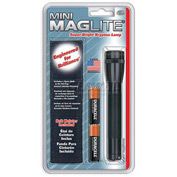 Maglite® M2A01H 2 Cell AA Mini Flashlight & Holster Combo Black