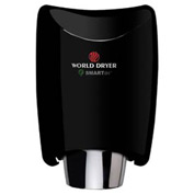 Smartdri Hand Dryer - Black Aluminum - 208-240V - K4-162