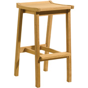 Oxford Garden® Dartmoor Outdoor Bar Stool - Natural