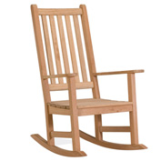 Oxford Garden® Franklin Outdoor Rocking Chair - Natural