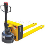 Wesco® Semi-Electric Pallet Jack Truck 273289 27 x 48 Forks 3300 Lb. Capacity