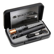 Maglite® K3A012 1 Cell AAA Solitaire® Flashlight Black
