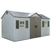 Lifetime Storage Shed 15' x 8' Front Entry With Windows