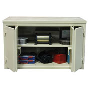 Strong Hold Cabinet Workbench W/Bi-Fold Doors