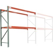 "Global Tear Drop Pallet Rack Add-On 48""W X 36""D X 96""H"
