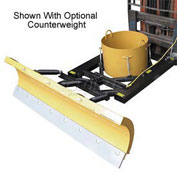 "7' Wide Fork Lift Snow Plow Blade for 7-1/2"" Wide Forklift Forks - SPB-756"