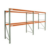 "Global Tear Drop Pallet Rack Add-On 120""W x 42""D x 96""H"