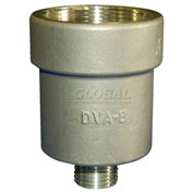 "Vestil DVA-B Brass Drum Vent Adapter 2"" to 3/4"""