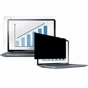"Fellowes®  Laptop/Flat Panel Privacy Filter - 15.4"" Wide - Pkg Qty 4"