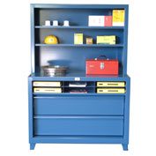 """Strong Hold Assembly Workstation - 49""""W x 24""""D x 68""""H"""