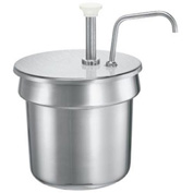 Server Stainless Steel Pump For A 4 Qt Vegetable inset