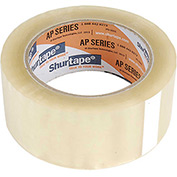 "Shurtape® Carton Sealing Tape AP101 2"" x 110 Yds 2 Mil Clear - Pkg Qty 36"