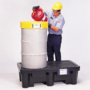 UltraTech Ultra-Spill® Economy Containment Pallet 2505 P2 2-Drum with Drain