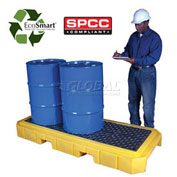 UltraTech Ultra-Spill Pallet Plus® Pallet 9626 P3 3-Drum with No Drain