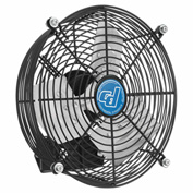 Guard Mounted Direct Drive Exhaust Fan 10""