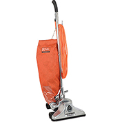 "Royal Commercial 14"" Metal Upright Vacuum with Zipper Bag"