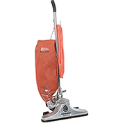 "Royal Commercial 18"" Metal Upright Vacuum with Zipper Bag-5 Height Adjustment"