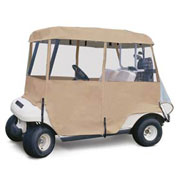 Classic Accessories Deluxe 4-Sided Golf Car Enclosure, Four-Person - 72472