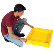 UltraTech Ultra-Utility Tray® 1330 - Flexible Model - 18 x 18 - 5 Gallon Capacity