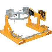 Vestil Fork Mounted Drum Carrier & Rotator DCR-205-8 800 Lb. Capacity
