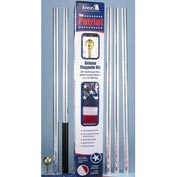 Patriot 20' Flag Pole & 3x5 Nylon Us Flag Set - Pkg Qty 3