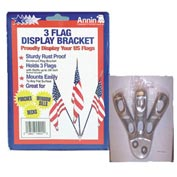 Spearhead Flag Holder (3flags) - Pkg Qty 6
