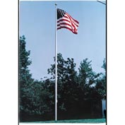 25' Large Outdoor Aluminum Flagpole