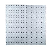 "Stainless Steel Square Hole LocBoard 18"" x 36"" (2 Pack)"