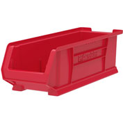 "Akro-Mils Super-Size AkroBin® 30284 - Stacking Bin 8-1/4""W x 23-7/8""D x 7""H Red - Pkg Qty 4"