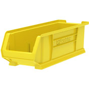 "Akro-Mils Super-Size AkroBin® 30284 - Stacking Bin 8-1/4""W x 23-7/8""D x 7""H Yellow - Pkg Qty 4"