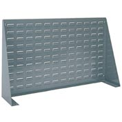 Akro-Mils Steel Louvered Bench Rack 98636 - 36 x 8 X 20 Grey