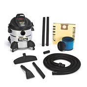 Shop-Vac® 8 Gallon Stainless Steel 5.5 Peak HP Wet Dry Vacuum