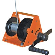 Vestil Hand Operated Standard Gear Winch HWG-600 600 Lb. Capacity