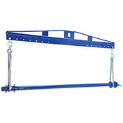Vestil Spreader Beam Roll Lifter SBRL-25 2500 Lb. Capacity
