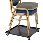 Universal Dolly for Multi-Purpose Stacking Chairs