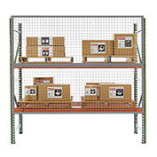 Husky RGW10000-0400, 10' x 4' Wire Mesh Pallet Rack Guard