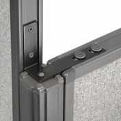"""Interion™ High Low Corner 90 Kit For 46"""" Low Panel"""