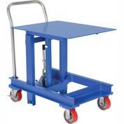"Vestil Portable Die Lifting Table DIE-2430-48 2000 Lb. Cap. 30"" to 48"" Height"