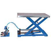 Vestil Light-Duty Pneumatic Scissor Lift Table AT-10 200 Lb. Capacity