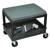 Luxor® MS21 Mobile Mechanics Stool
