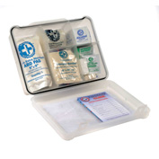 Multi-Purpose First Aid Kit, 120 Pieces, Plastic Case