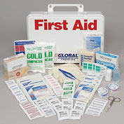 First Aid Kit - 50 Person, Plastic Case