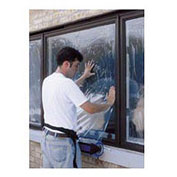"Protective Window Film 24""W x 500'L, 4 Mil"