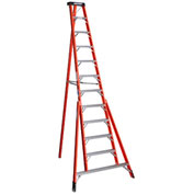 Werner 12' Fiberglass Tripod Step Ladder - FTP6212