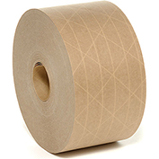 Reinforced Water Activated Tape 70mm x 375' 5 Mil Tan - Pkg Qty 8