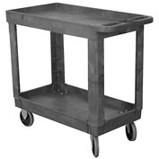 Wesco® Economy Plastic Tray Shelf Service Cart 270494 30x16 330 Lb. Cap.